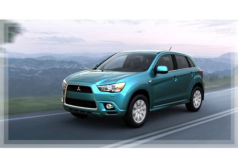 mitsubishi rvr images mitsubishi unveils rvr crossover headed to the us soon