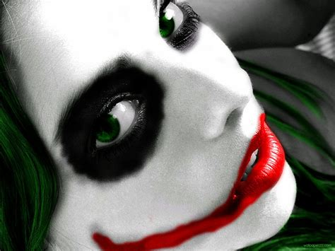 Joker Girl Face By Epicsmileyjj On Deviantart