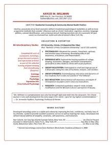 professional resume for graduate school resume sles exles brightside resumes