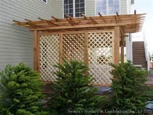 Nursery Screen Door by Backyard Pergolas Amp Patios Lattice Sreens For Privacy