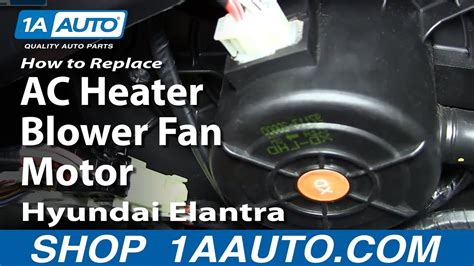 install ac heater blower fan motor   hyundai