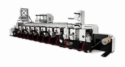 Evolution Mark Andy Press Flexo Equipment Printing