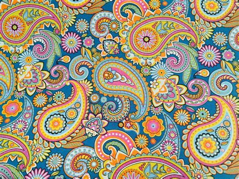 Wide Upholstery Fabric by Blue Paisley Upholstery Curtain Cotton Fabric Material
