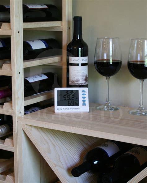digital wine cellar hygrometer  thermometer