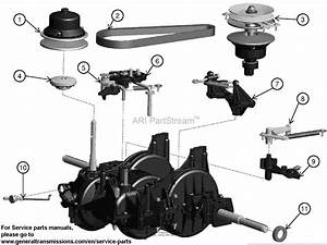 Ariens 936083  960460061-00  42 U0026quot  Automatic Tractor Parts Diagram For Transmission