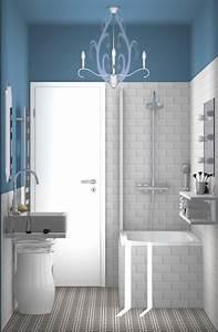Salle De Bain Etroite : 5 id es pour une salle de bains d co et pas cher styles de bain ~ Melissatoandfro.com Idées de Décoration