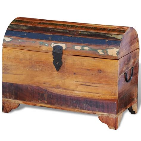 See the detailed pics here. Industrial Large Wooden Treasure Chest Trunk Storage Box Coffee Table Cabinet UK | eBay