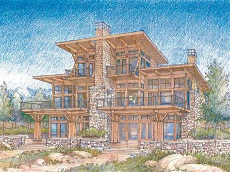 Luxury Home Plans by Waterfront Luxury Home Plans Modern Waterfront House Plans