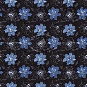 Floral Wallpaper Texture Seamless 11022
