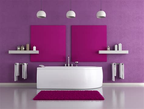 Bathroom Design In Purple Tones And Shades by Summer 2014 New Color Trends Planyourplace En