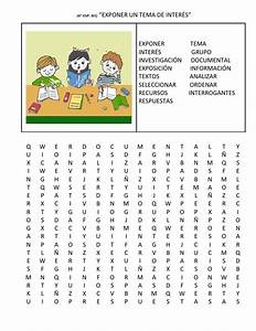 Sopa de letras 4°