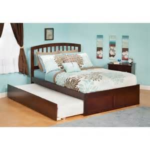 atlantic furniture richmond bed with urban trundle in