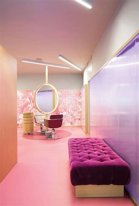 hair salon decoration design rebuilding  concept