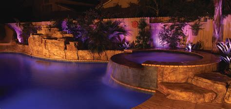 changing pool light intellibrite color changing led landscape light pool and