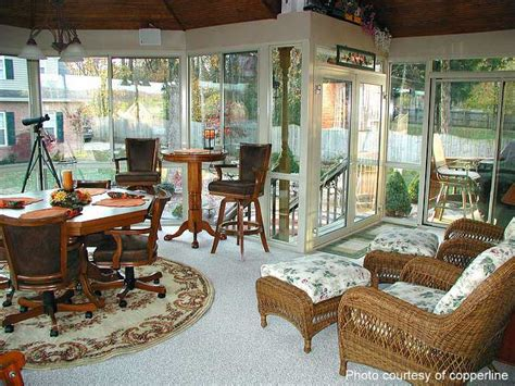 Four Season Porch Furniture Ideas by Sunroom Flooring Sunroom Ideas Sunroom Designs