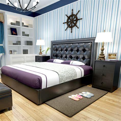 contemporary bedroom furniture designs modern design soft bed bedroom furniture bed bedside 14939