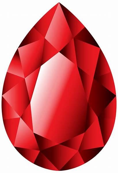 Clipart Ruby Garnet Gems Gem Clip Transparent