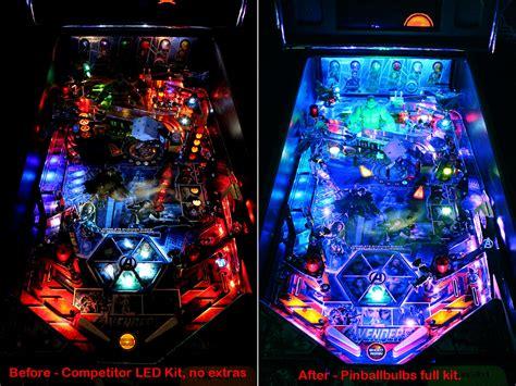 high quality pro pinball ultimate led lighting