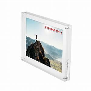 Cadre En Plexiglas : cadres photo magn tiques en plexiglass pour affichette photo ~ Teatrodelosmanantiales.com Idées de Décoration