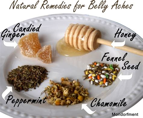 Stomach Ache Natural Remedies Honeys Life