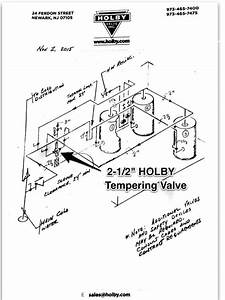 Water Heater Manual  Holby Mixing Valve Piping Diagram