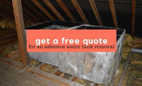 asbestos water tank removal ashbee solutions limited