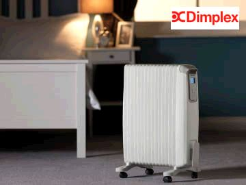 dimplex  oil  radiator thermometer timer
