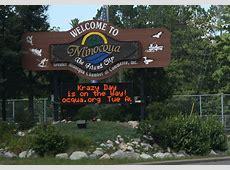 FileMinocqua Wisconsin Welcome Signjpg Wikimedia Commons