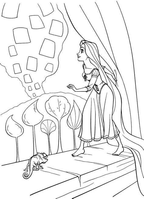 Images Of Coloring Pages Rapunzel Coloring Pages Best Coloring Pages For