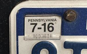 Pennsylvania registration stickers are out after 2016 ...