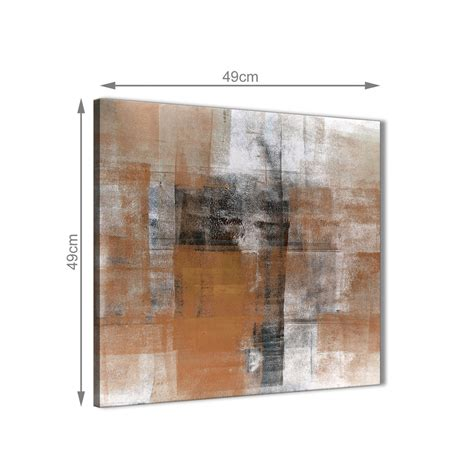 Black And White Abstract Uk by Orange Black White Painting Bathroom Canvas Wall