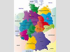 Map Of Germany Stock Images Image 6066854