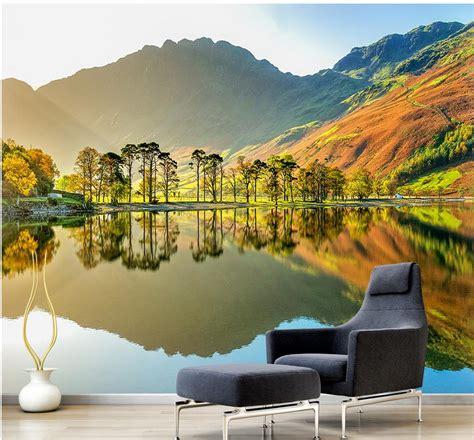 3d Wallpaper Scenery by Custom 3d Wallpaper Design Of Scenery Mural