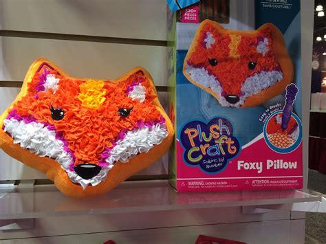plush craft pillow plush craft foxy pillow your sneak peek at 200 toys