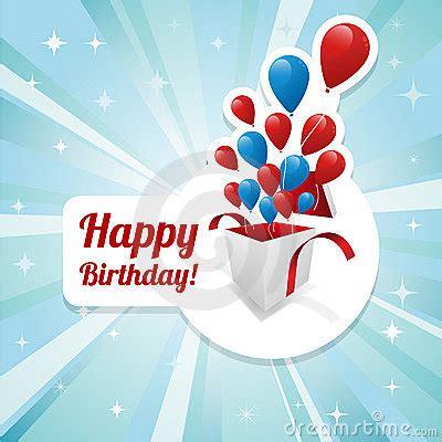 illustration  happy birthday card stock photography
