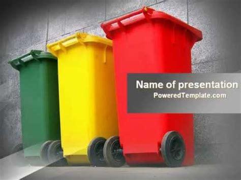 waste management powerpoint template  poweredtemplate