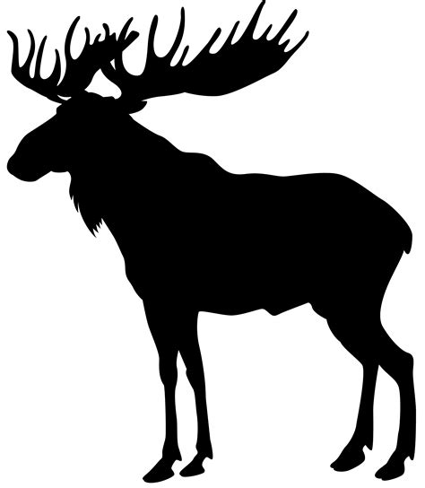 Moose Silhouette Png Clip Art Image Gallery Yopriceville
