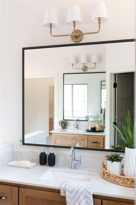 Black Bathroom Mirrors by Bathroom Mirror Modern Farmhouse Bathroom Mirror With Thin