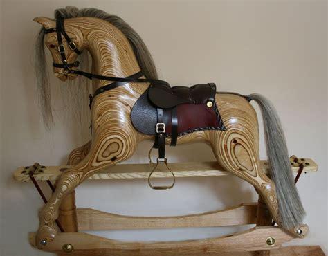 making  laminated rocking horse layers  layers glued