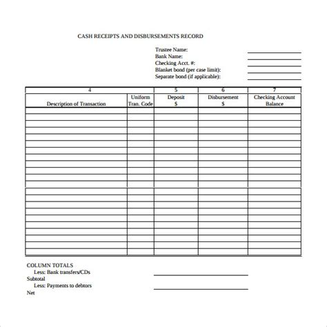 cash receipt templates  google docs google