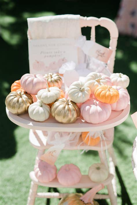karas party ideas  pumpkin baby shower karas