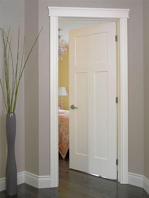 craftsman interior trim craftsman iii smooth finish moulded interior door flickr
