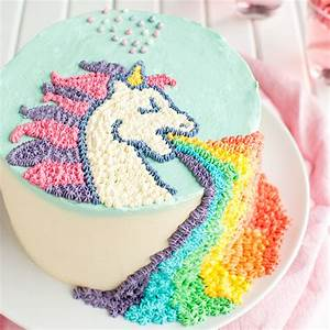 Puking Unicorn Cake - The Tough Cookie