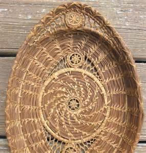 Louisiana Pine Needle Basket