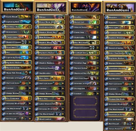 Hearthstone Chionship Decks 2014 by Hearthstone News Hearthstone World Chionship Finals