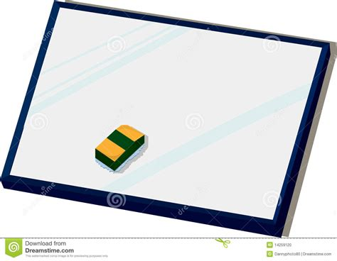board  duster stock vector illustration  board