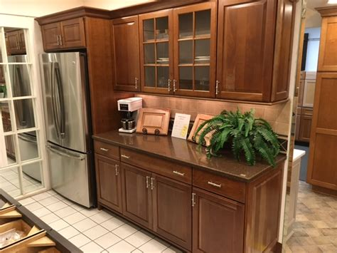 showroom display cabinets countertops modern kitchens