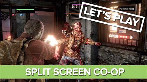 resident evil revelations 2 split screen co op raid mode
