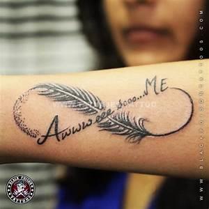 ¡Los 70 mejores tatuajes del infinito y su significado! ¡Ideas para tu Tattoo!