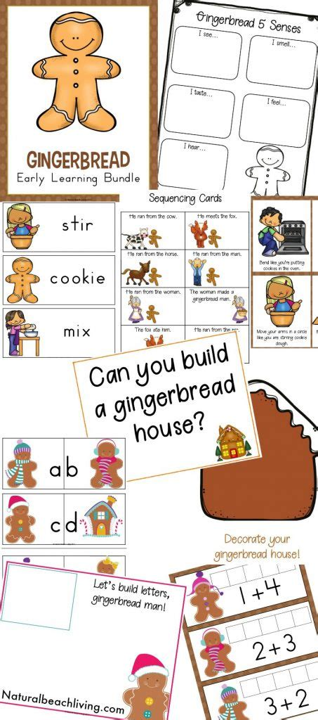 the best kindergarten and preschool gingerbread theme 742 | Preschool Gingerbread Theme pin 453x1024